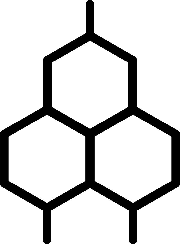 Honeycomb clipart single. Svg png icon free