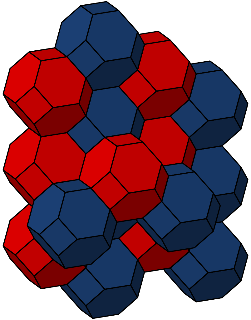 Honeycomb clipart svg. File bitruncated cubic wikipedia