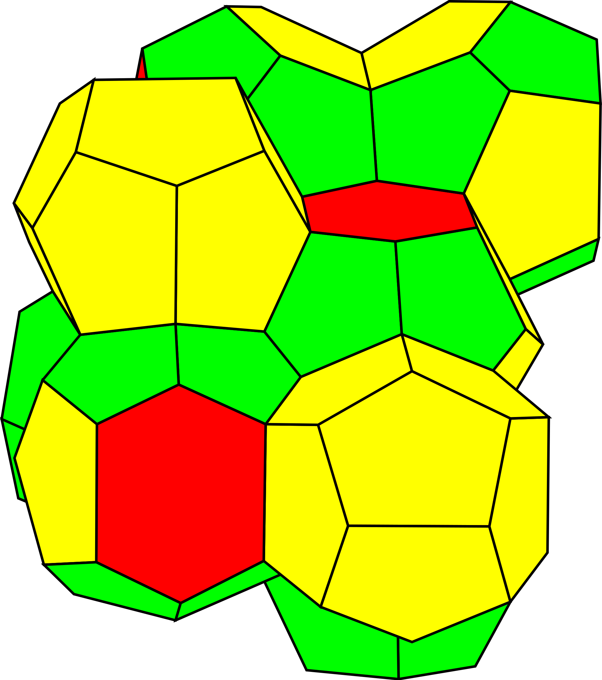 Honeycomb clipart svg. File hedral wikimedia commons
