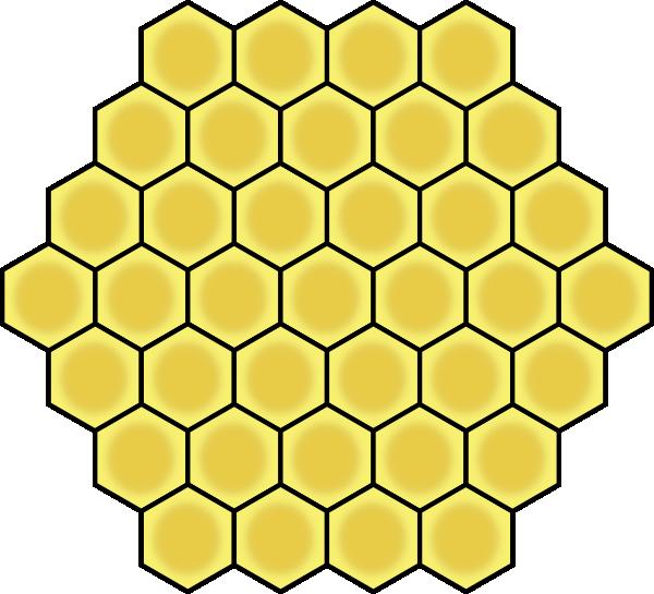 Honeycomb clipart vector. Clip art at clker