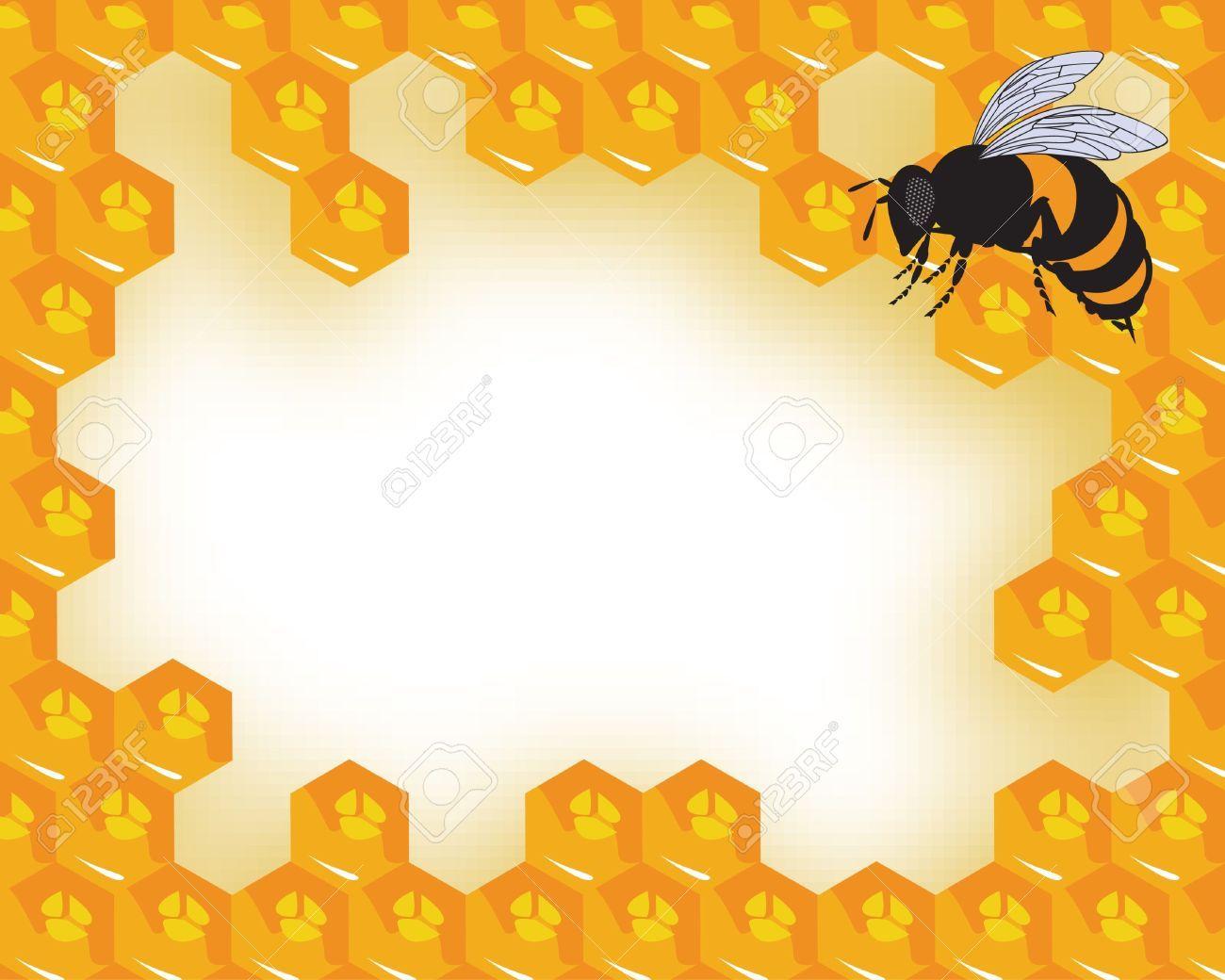 Honeycomb clipart vector. Stock apiary honey ideas