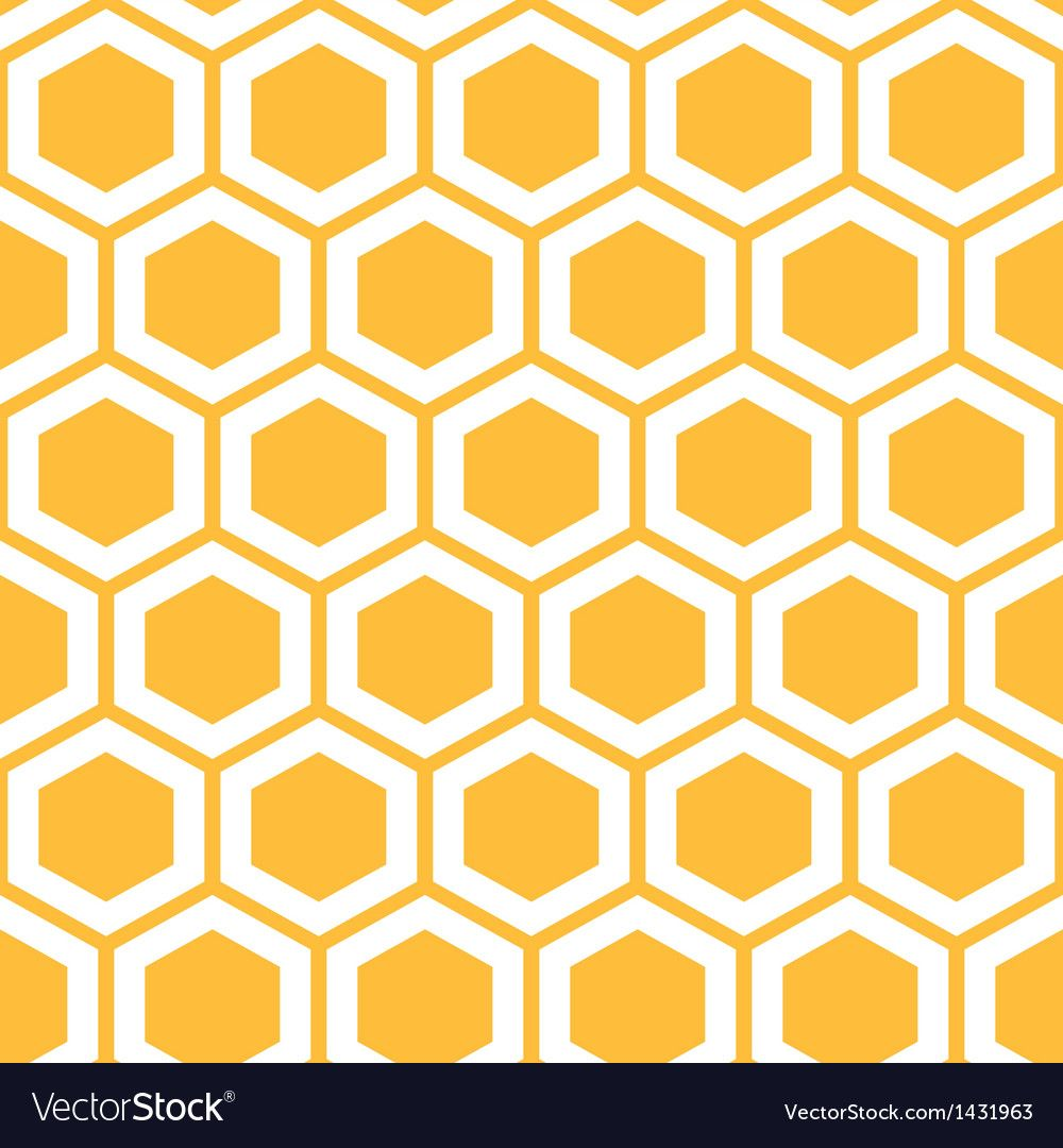 Honeycomb clipart vector. Pattern with honeycombs royalty