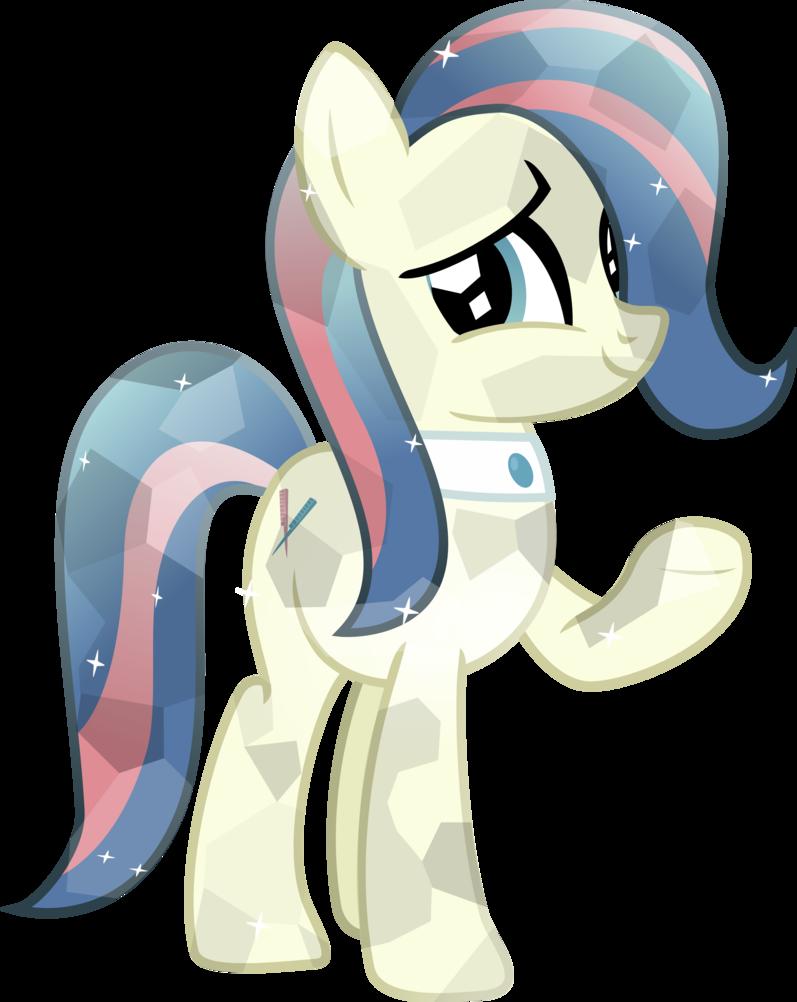 Spa pony by brony. Honeycomb clipart vector