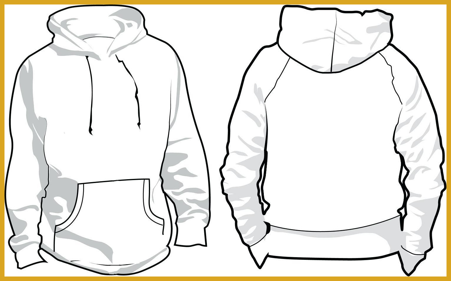 Hoodie clipart. Astonishing men u clip