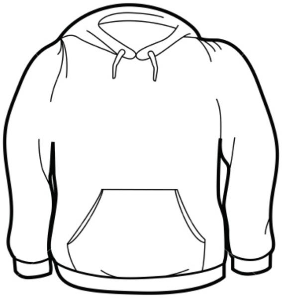 Sweatshirt clipart sketch. Ist adult size free