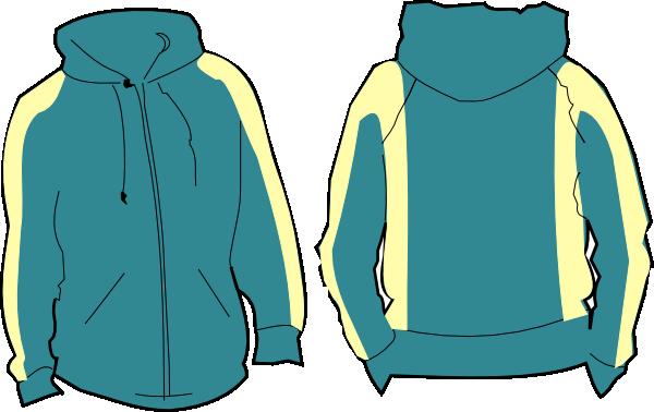 Sweatshirt clipart. Green hoodie clip art