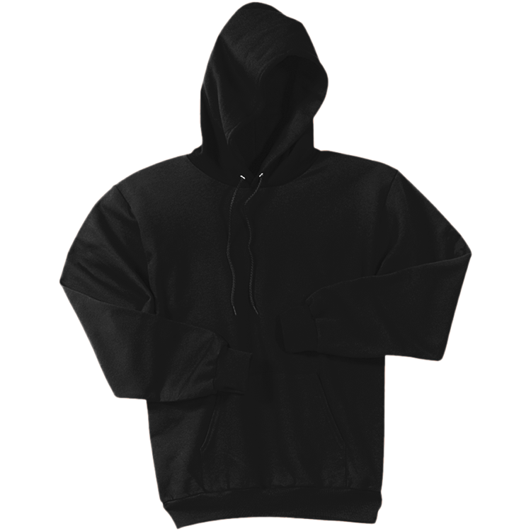 Men s cotton polyester. Hoodie clipart black and white