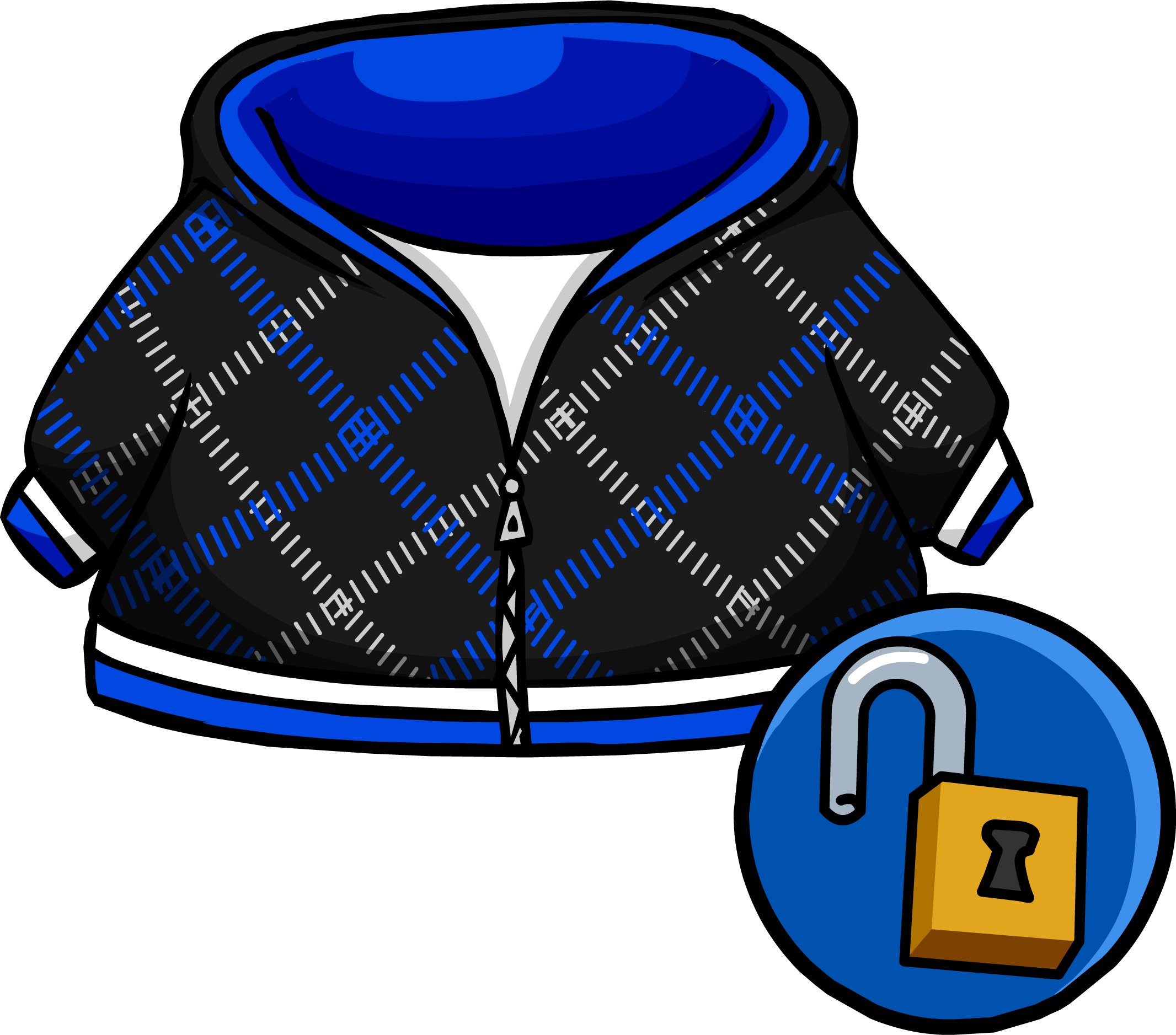Crosshatched club penguin rewritten. Hoodie clipart blue hoodie