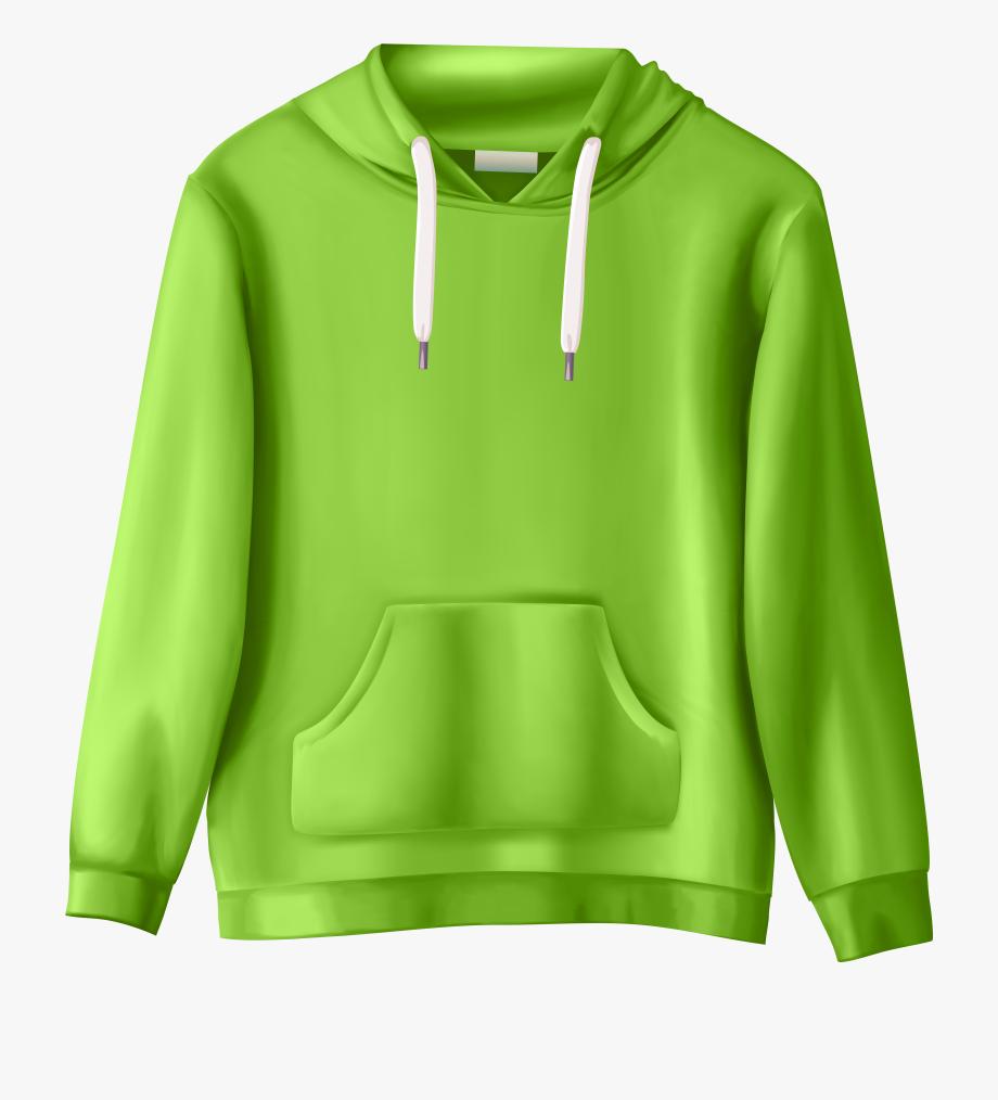 Hoodie clipart clip art. Green sweatshirt png cliparts