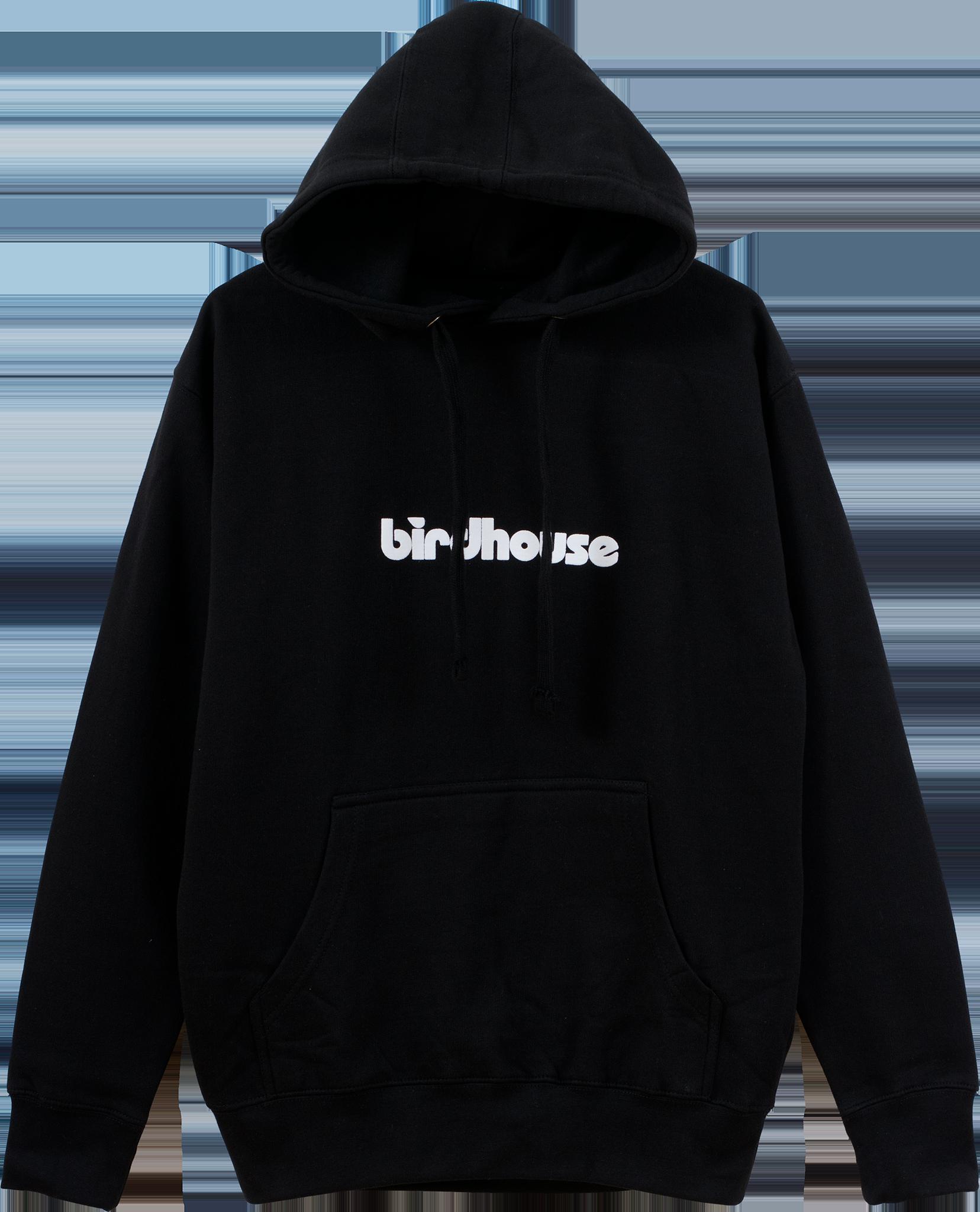 Hoodie clipart crewneck sweatshirt. Birdhouse hoodies stacked logo