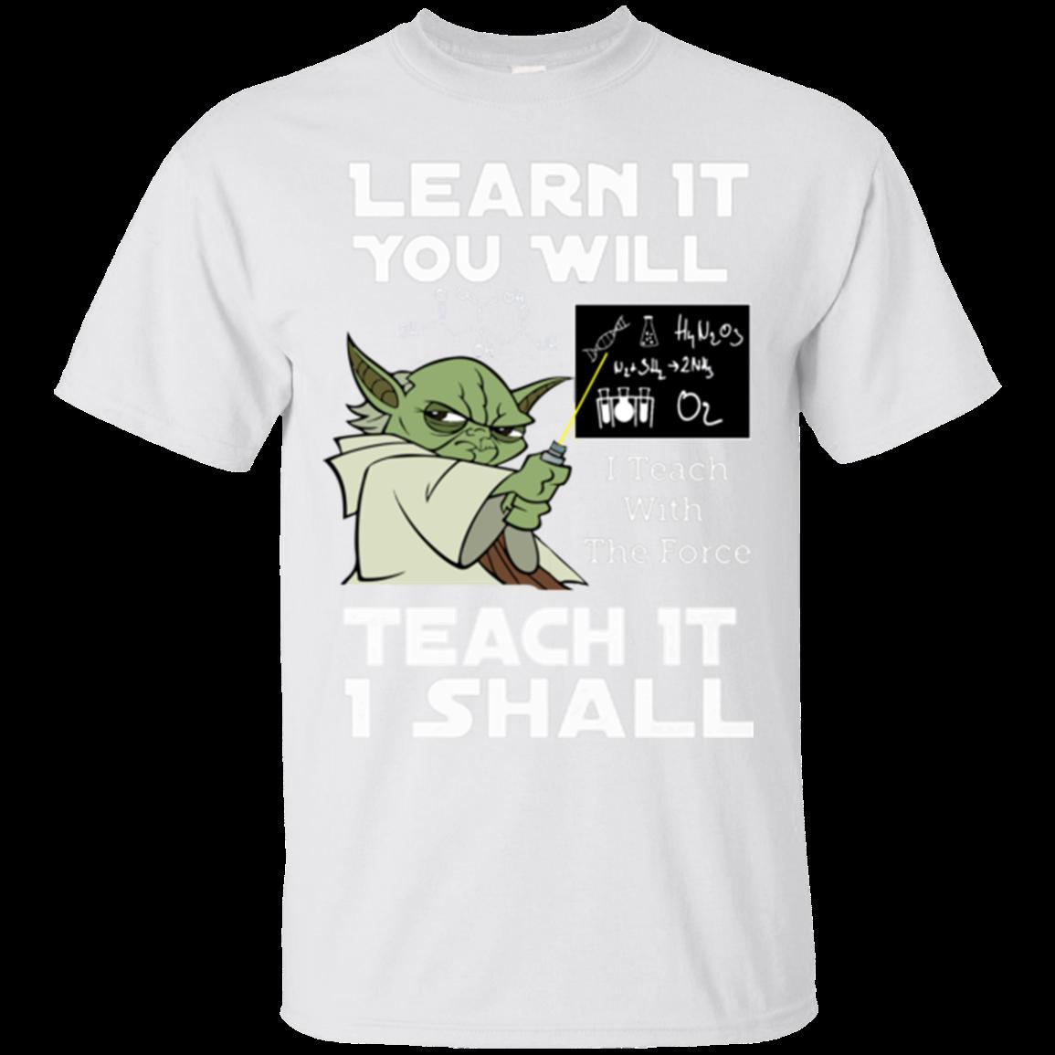 Hoodie clipart crewneck sweatshirt. Yoda learn it you