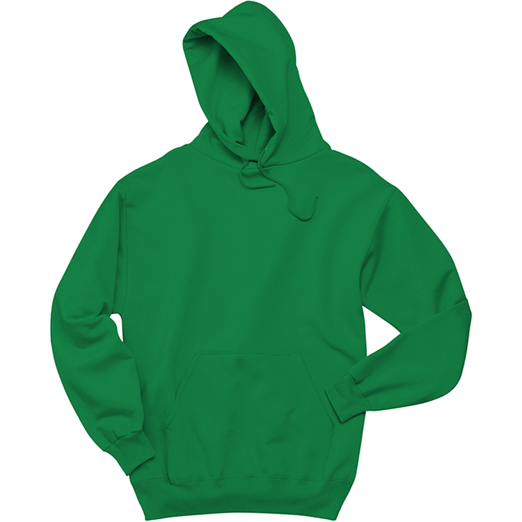 Hoodie clipart green. Men s cotton polyester