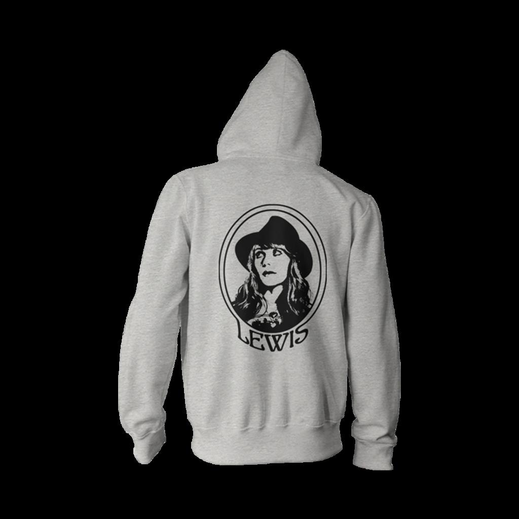 Sweatshirt clipart grey hoodie. Portrait unisex jenny lewis