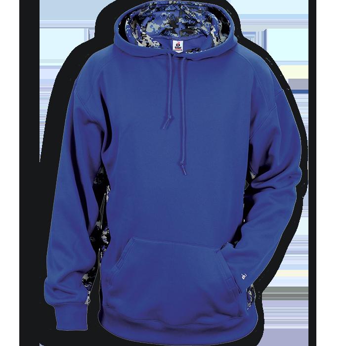 Badger digital camo pro. Hoodie clipart hooded sweatshirt