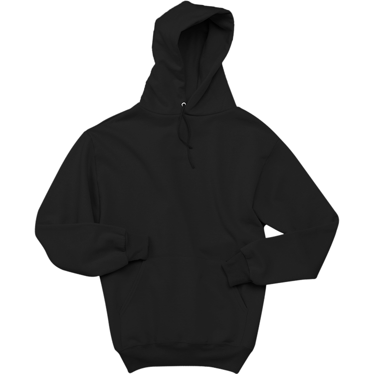 Hoodie clipart jacket outline. Men s cotton poly