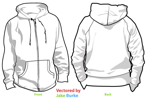 Hoodie clipart jacket outline. Free cliparts download clip