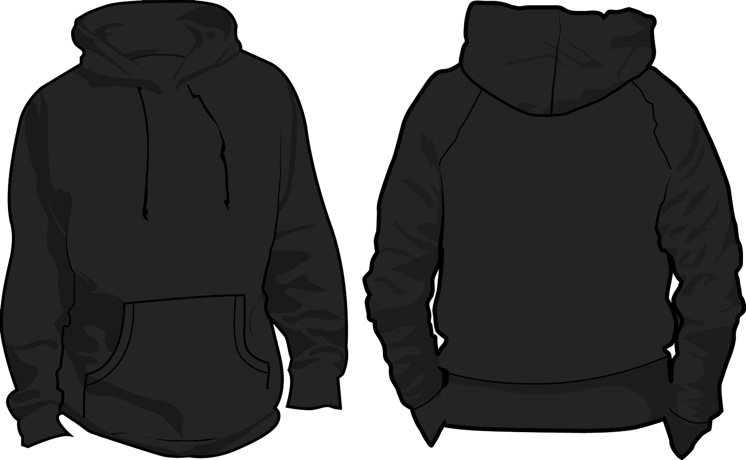 Free zipper cliparts download. Hoodie clipart jacket outline