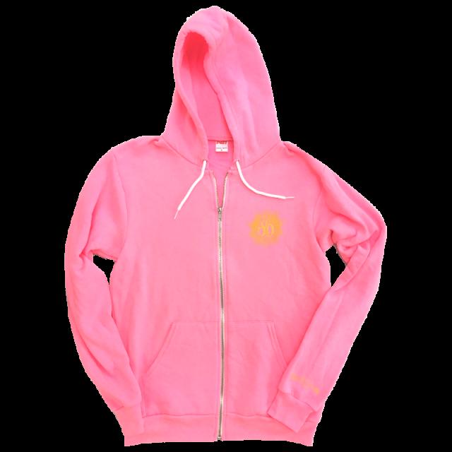 Sarah darling hot zip. Hoodie clipart pink jacket