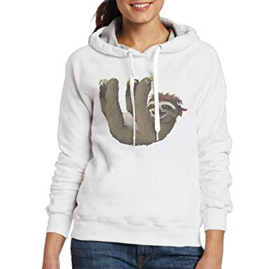 Amazon com nvweiyijw sloth. Hoodie clipart pullover hoodie