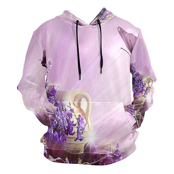 Hoodie clipart purple jacket.  d flower butterfly