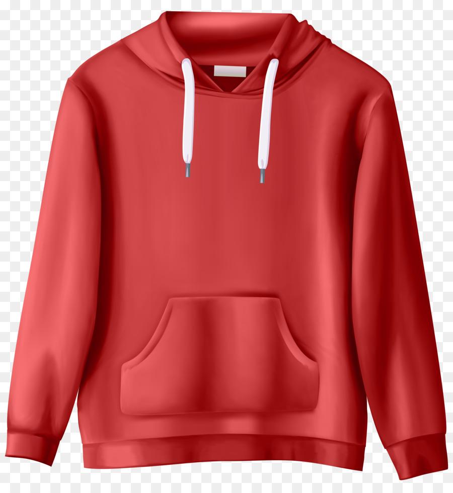 Red background tshirt shirt. Hoodie clipart sweatshirt
