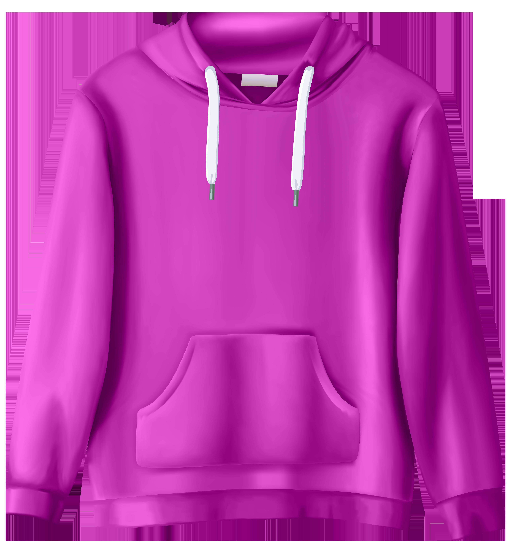 Pink sweatshirt png clip. Hoodie clipart sweatsuit