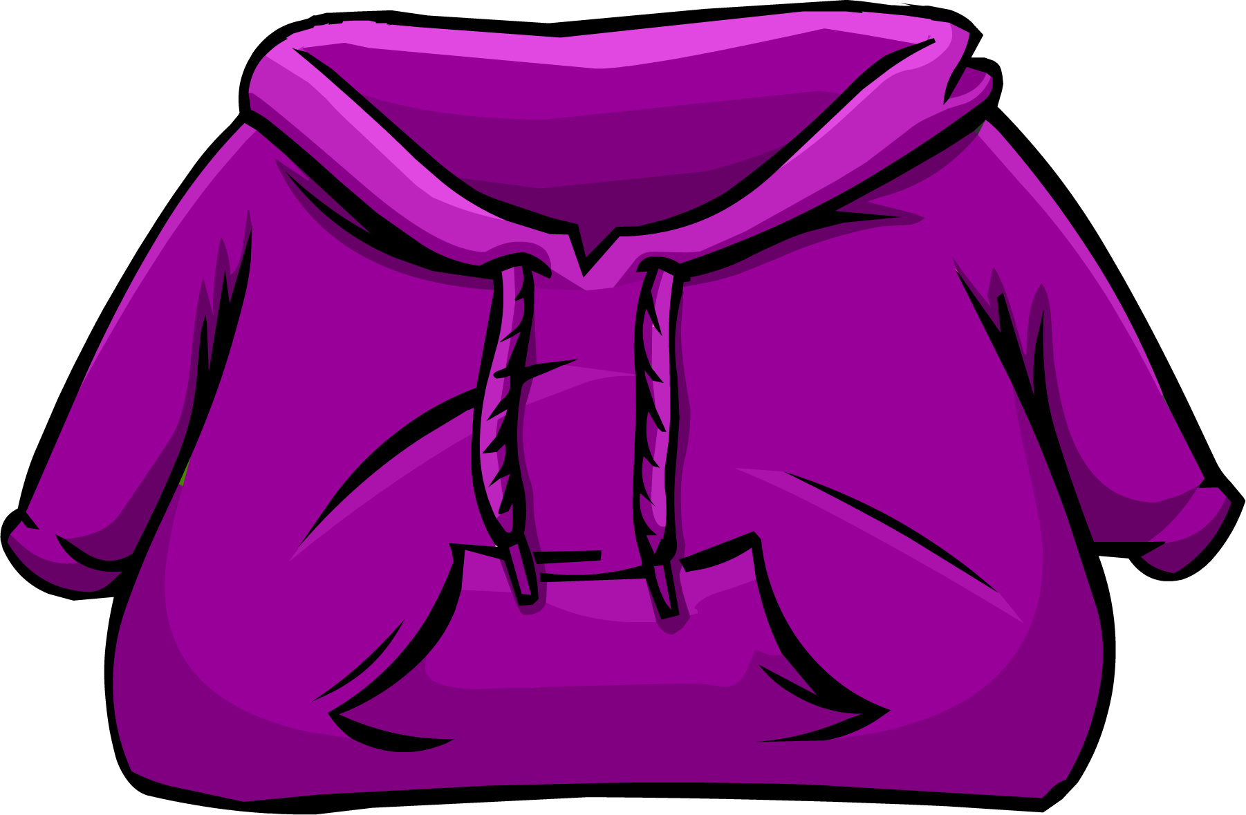 Hoodie clipart transparent. Purple club penguin wiki