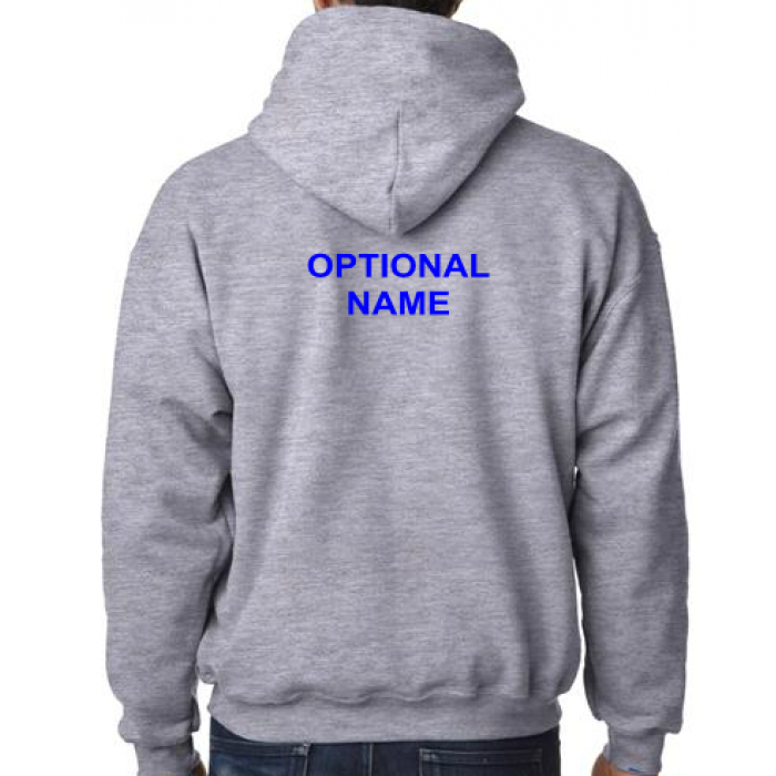 Hoodie clipart zip hoodie. Embroidered adult and youth