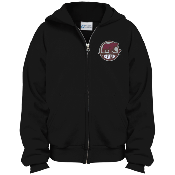 Hershey bears youth embroidered. Hoodie clipart zipper jacket