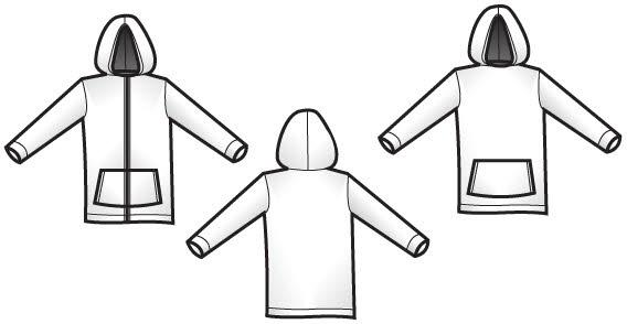 Hoodie clipart zippered. Sweatshirt zipper clip art