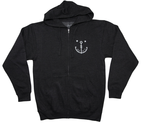 Anchor zip up delb. Hoodie clipart zippered