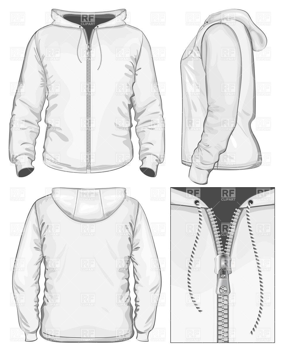 Clip art zip up. Hoodie clipart zippered
