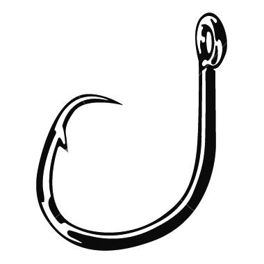Hook clipart. Fish