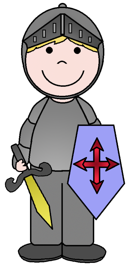 Medieval clipart medieval symbol. Cool knight free on