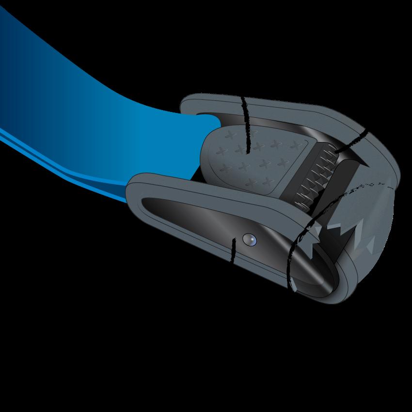 Hook clipart barbed. Shredrack tension belt set