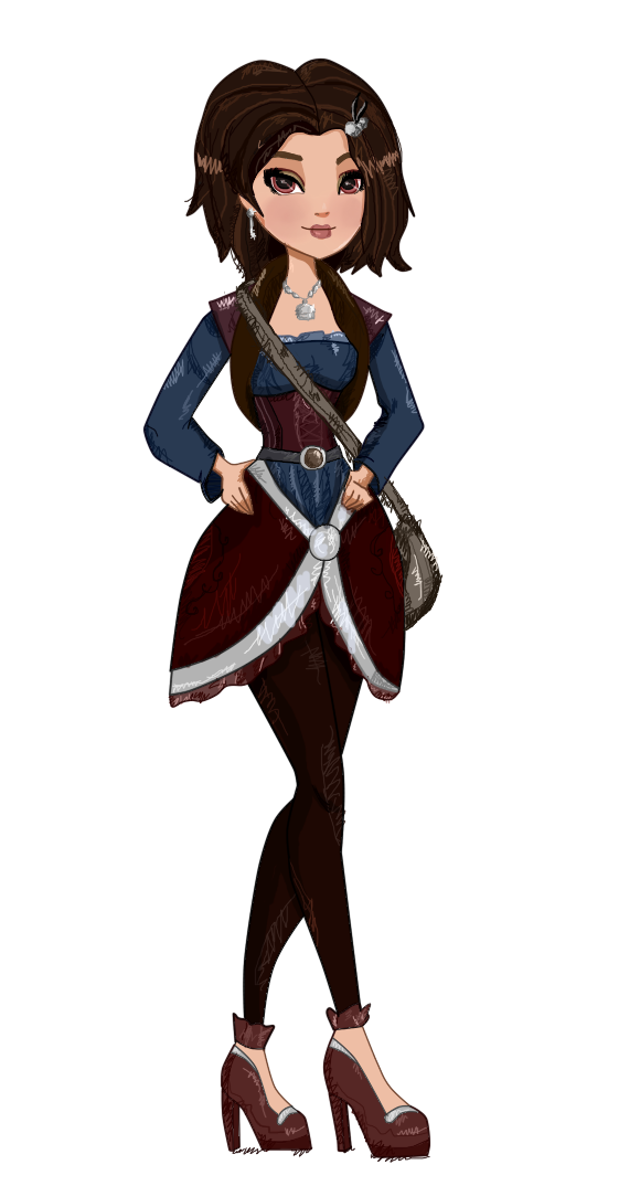 Hook clipart character. Ever after high daughter