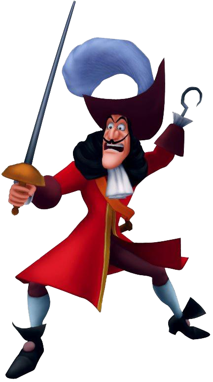 Image captain kh png. Hook clipart character