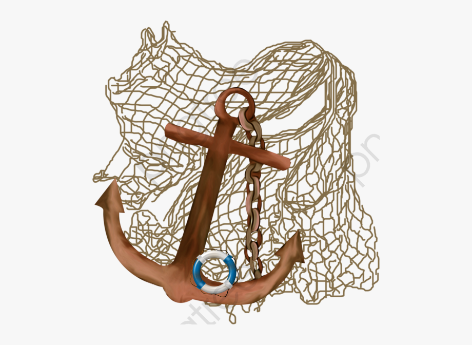 Hook clipart crossed. Fish two dibujo red