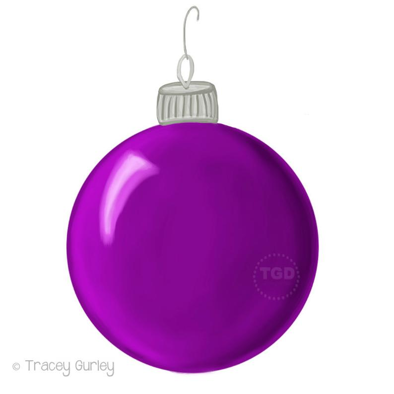 Hook clipart ornament hook. Purple christmas clip art