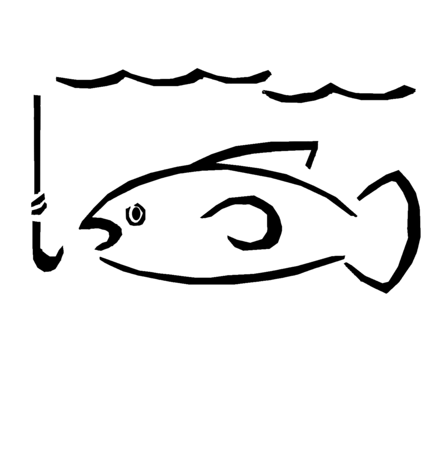 Hook clipart simple. Free fishing download clip