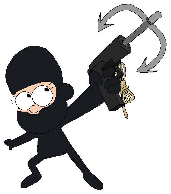 Hook clipart weapon. Mabel pines as grapple