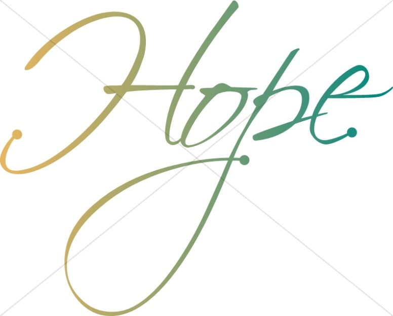 Word art christian christmas. Hope clipart