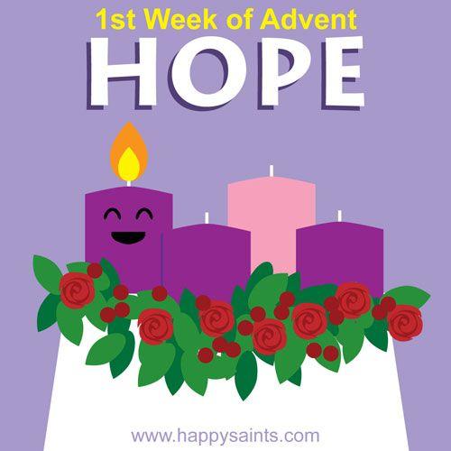 Happy saints st week. Hope clipart 1st