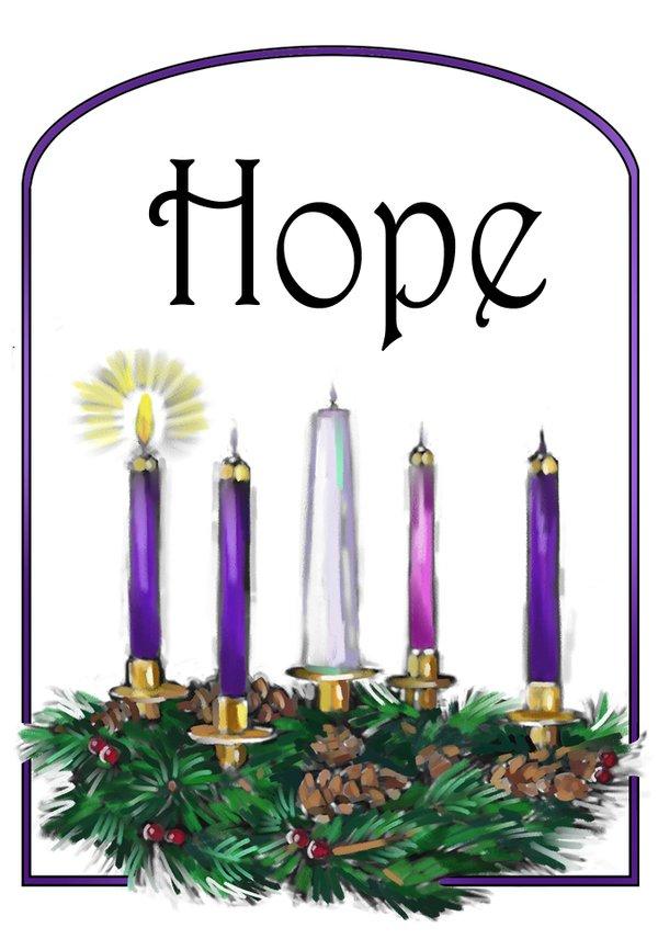 One united methodist insight. Hope clipart advent week 1