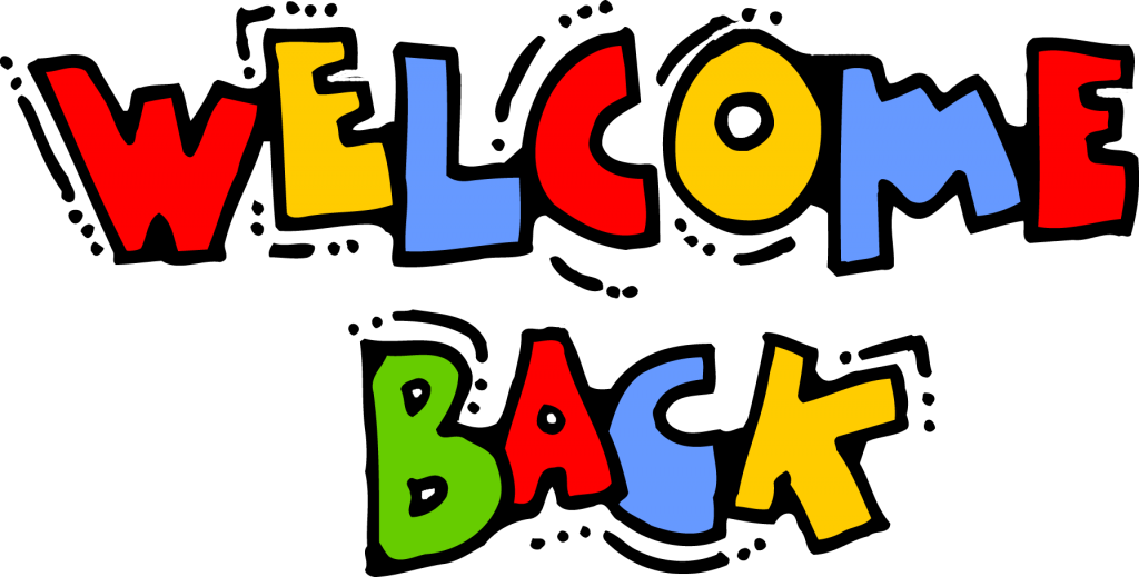 Hope clipart colorful. Welcome back and ready
