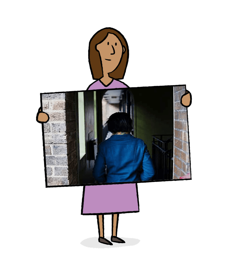 Domestic violence support groups. Outside clipart home life