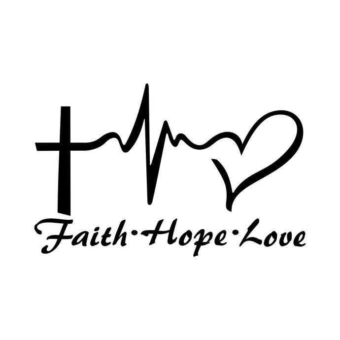 Hope clipart faith. Love heart graphics design