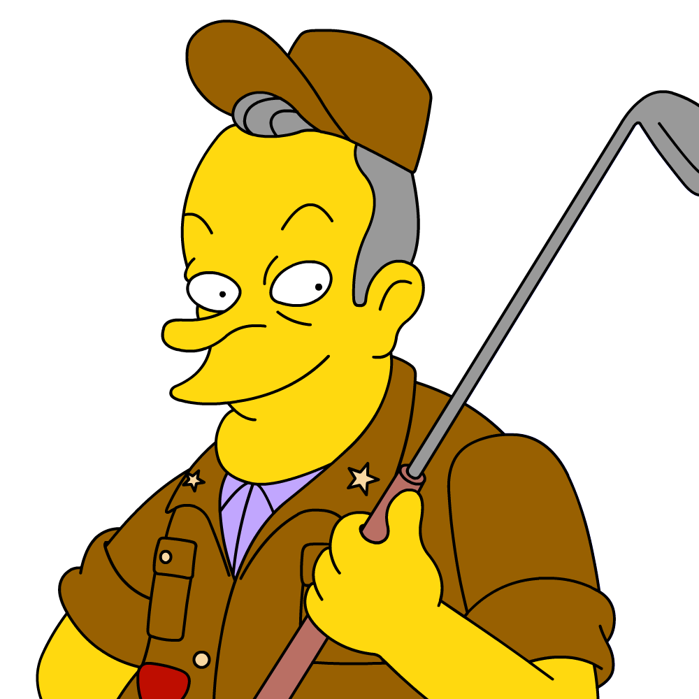 Hope clipart finger crossed. Image bob png simpsons