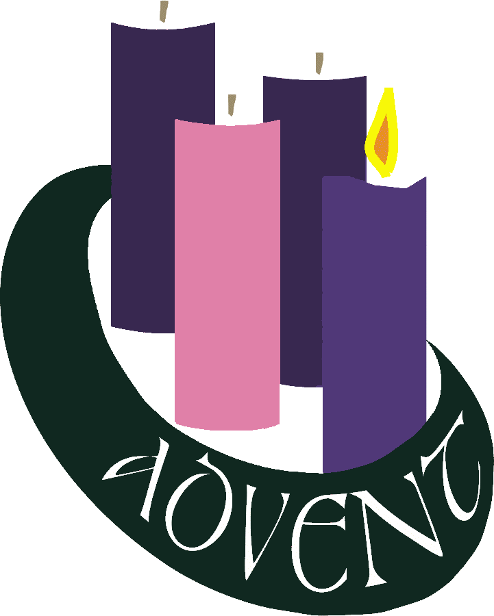Wishes candles . Peace clipart 4th sunday advent