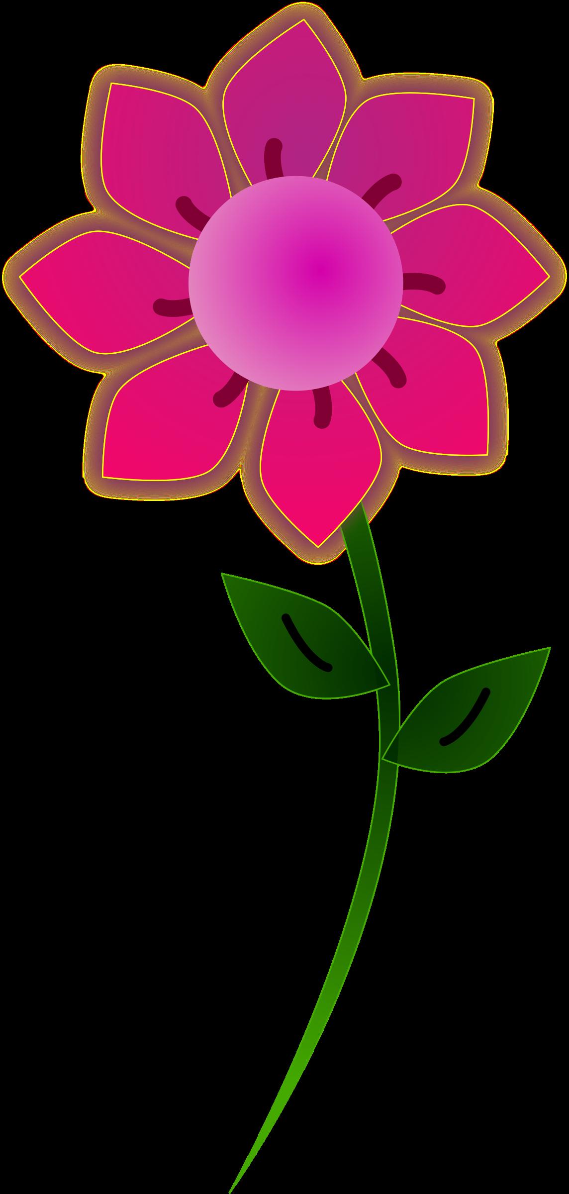 Pink clipart sunflower. Sun flower big image